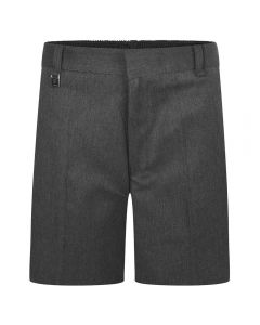 BOYS SCHOOL SHORTS GREY