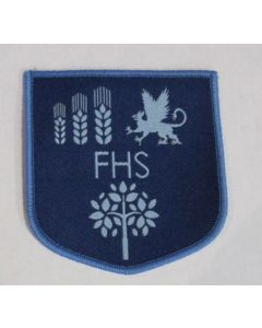Featherstone Iron on Badge