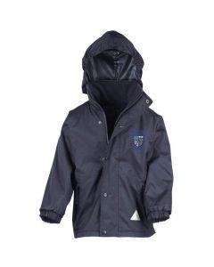 St Ignatius Catholic Primary reversible coat with School logo